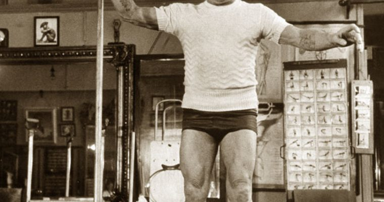 Joseph Pilates –  una persona prima di un metodo